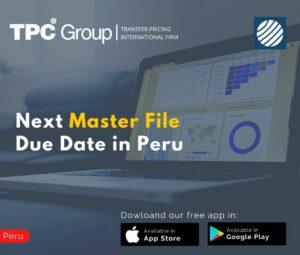 Next Master File Due Date in Peru