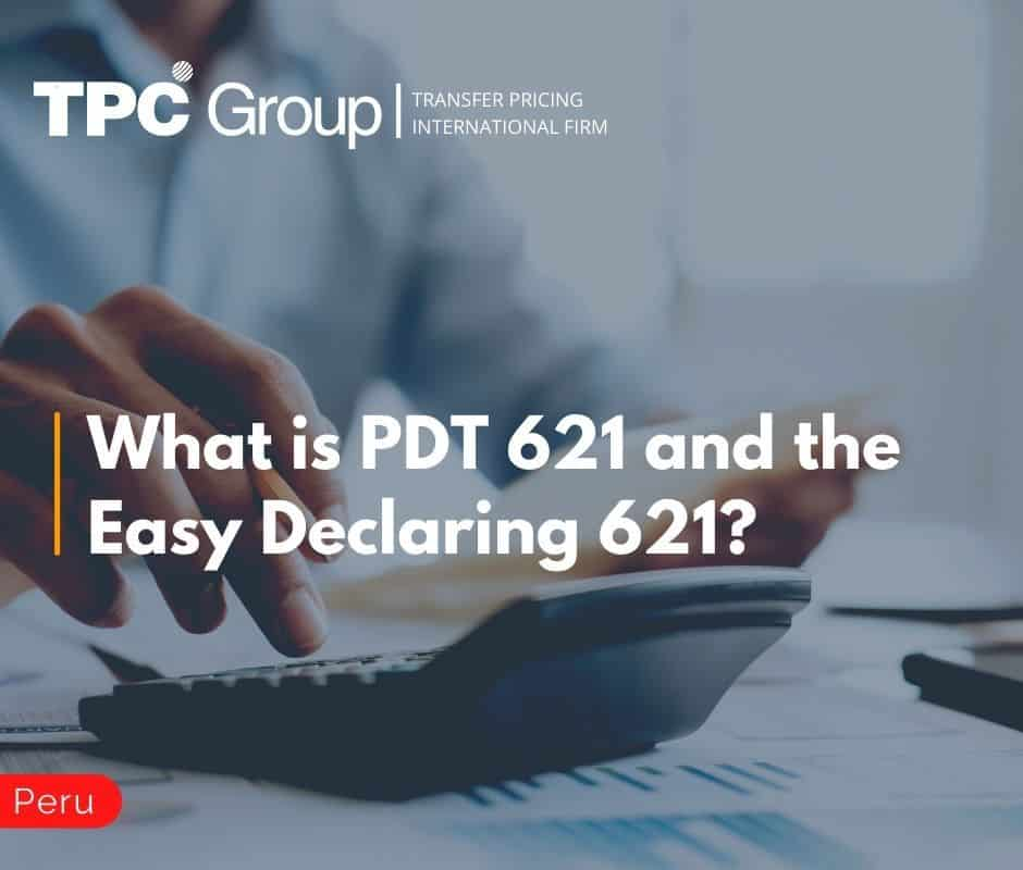 What is PDT 621 and the Easy Declaring 621?