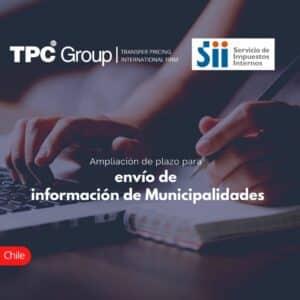 Ampliación de plazo para envío de información de Municipalidades