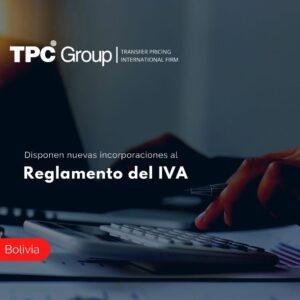 Disponen nuevas incorporaciones al Reglamento del IVA