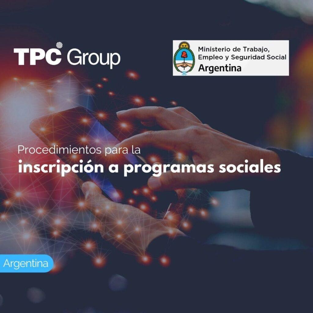 Procedimientos para la inscripción a programas sociales