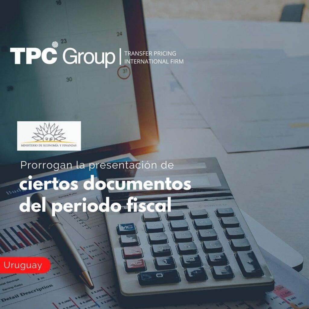 Prorrogan la presentación de ciertos documentos del periodo fiscal