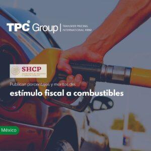 Publican porcentajes y montos del estímulo fiscal a combustibles