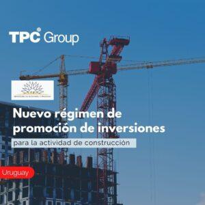 Régimen de promoción de inversiones para la actividad de construcción