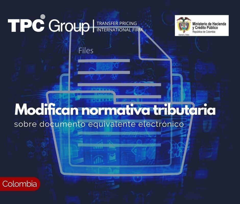 Modifican normativa tributaria sobre documento equivalente electrónico