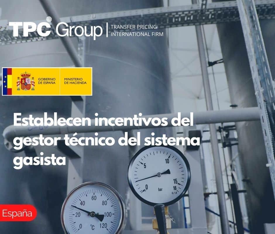 Establecen incentivos del gestor técnico del sistema gasista