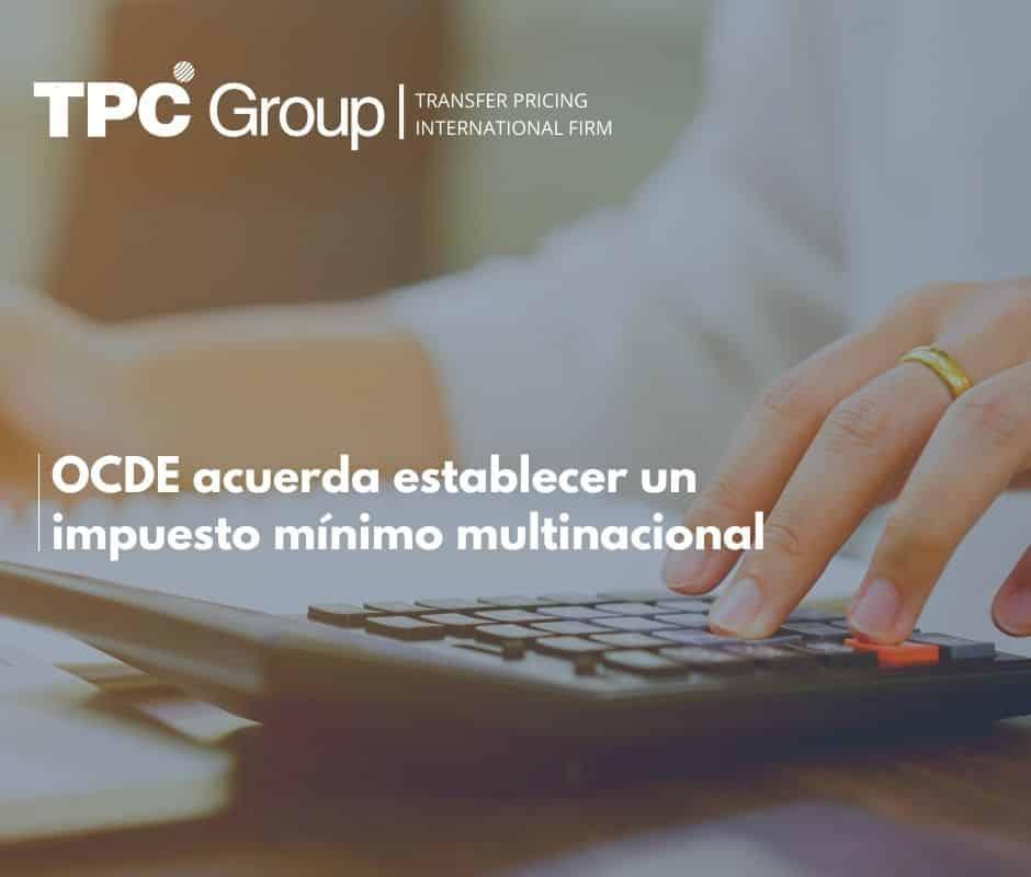 OCDE acuerda establecer un impuesto mínimo multinacional