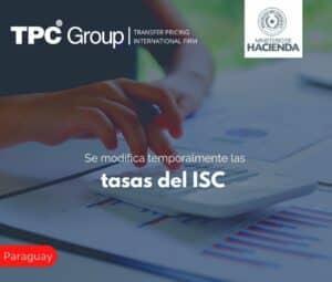 Se modifica temporalmente las tasas del ISC