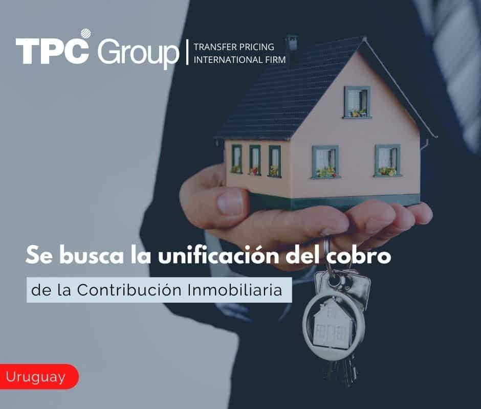 Se busca la unificación del cobro de la Contribución Inmobiliaria