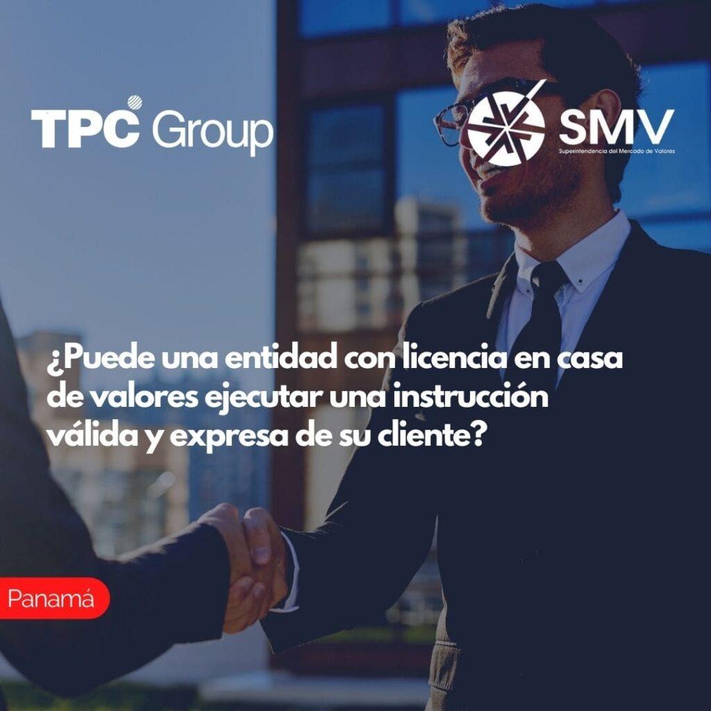 ¿Puede una entidad con licencia en casa de valores ejecutar una instrucción válida y expresa de su cliente