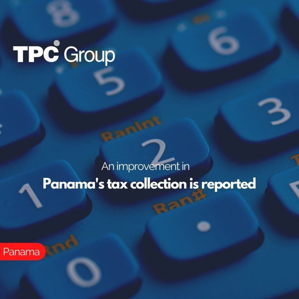 An improvement in Panama's tax collection is reported