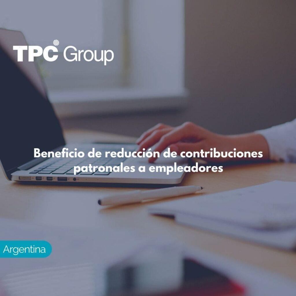 Beneficio de reducción de contribuciones patronales a empleadores