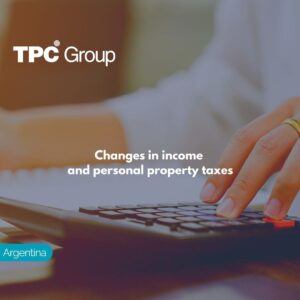 Changes in income and personal property taxes