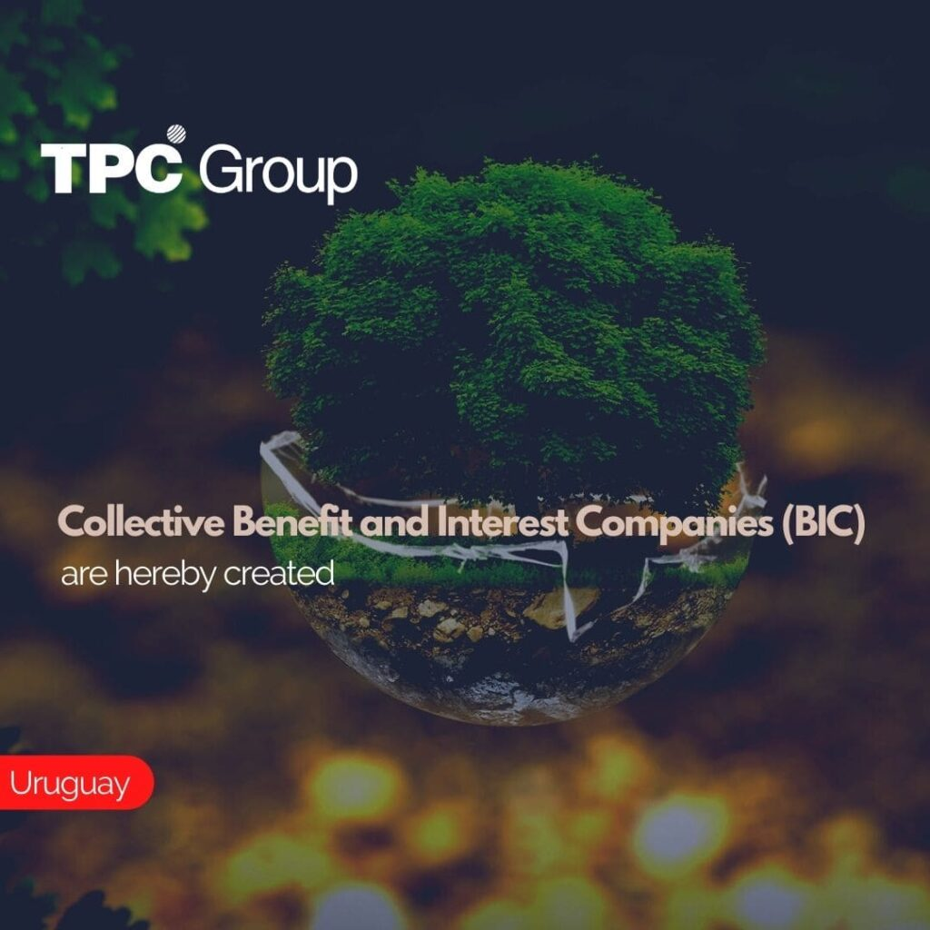 Collective Benefit and Interest Companies (BIC) are hereby created