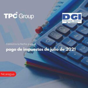 Conozca la fecha para el pago de impuestos de julio de 2021
