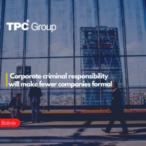 Corporate criminal responsibility will make fewer companies formal