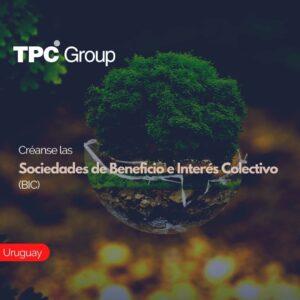 Créanse las Sociedades de Beneficio e Interés Colectivo (BIC)