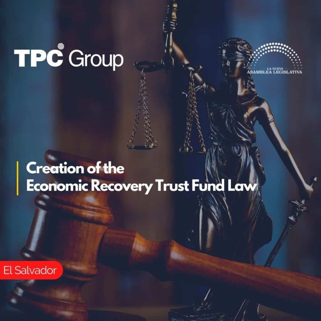 Creation of the Economic Recovery Trust Fund Law