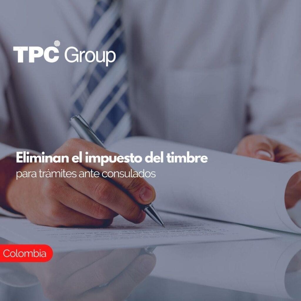 Eliminan el impuesto del timbre para trámites ante consulados