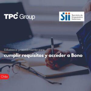 Establece procedimientos para cumplir requisitos y acceder a Bono