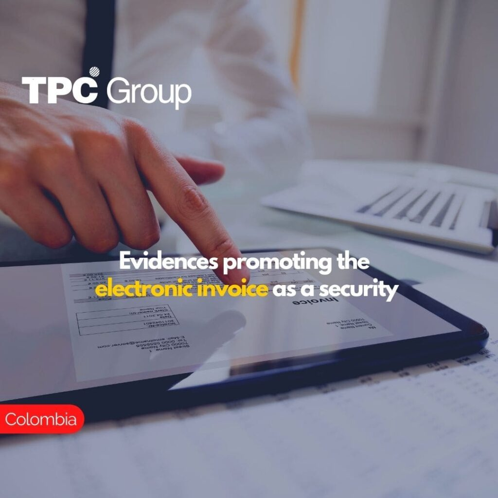 Evidences promoting the electronic invoice as a security