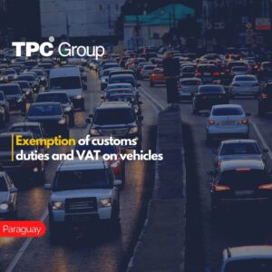 Exemption of customs duties and VAT on vehicles