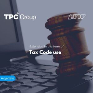 Extension to the term of Tax Code use