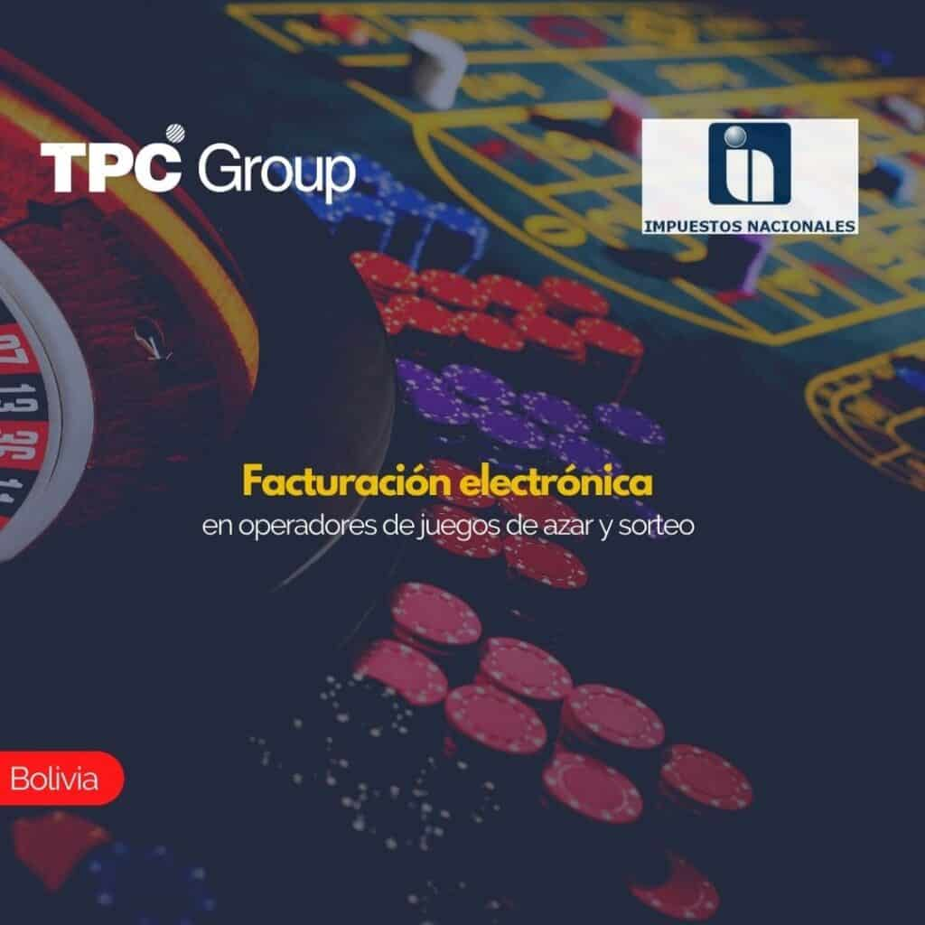 Facturación electrónica en operadores de juegos de azar y sorteo