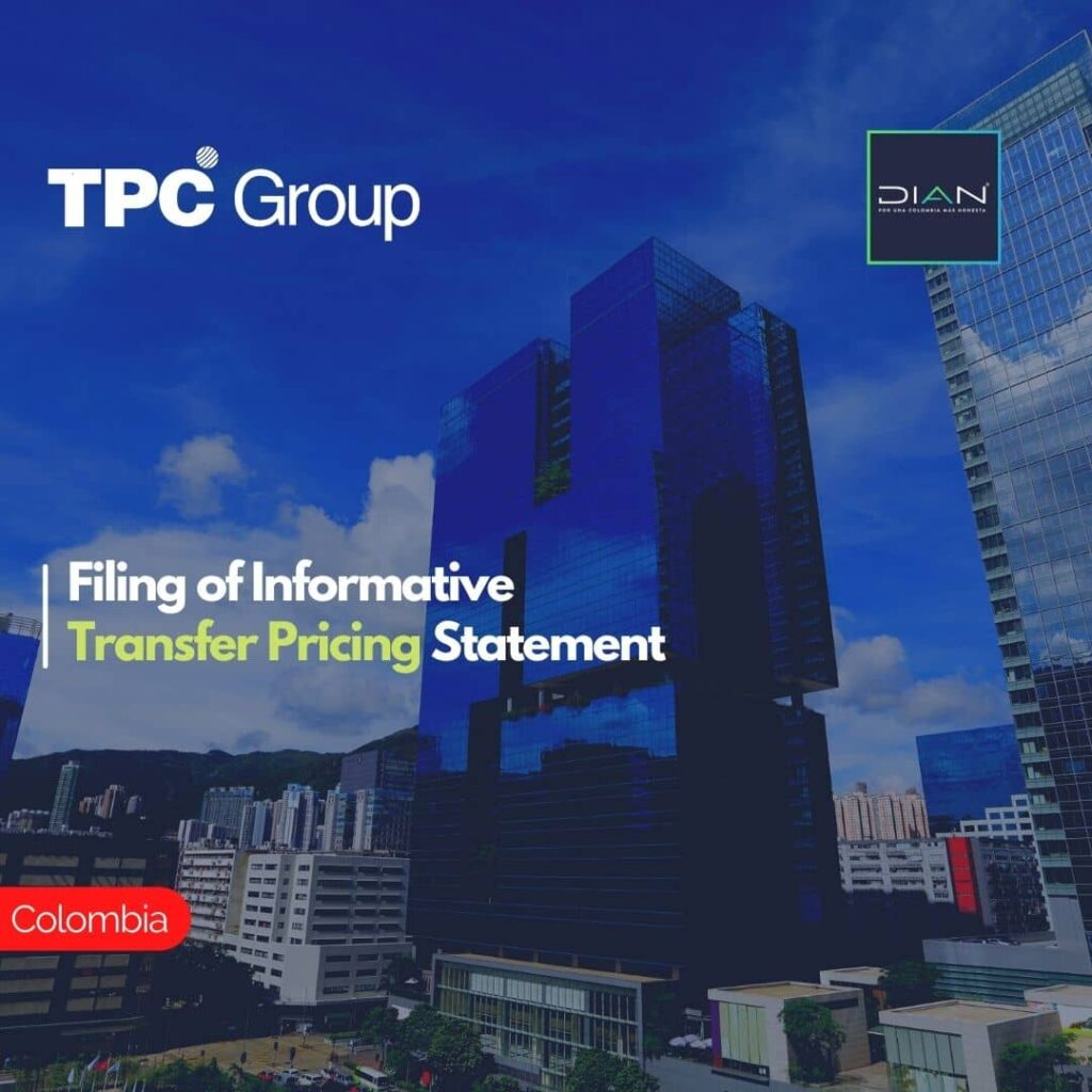 Filing of Informative Transfer Pricing Statement