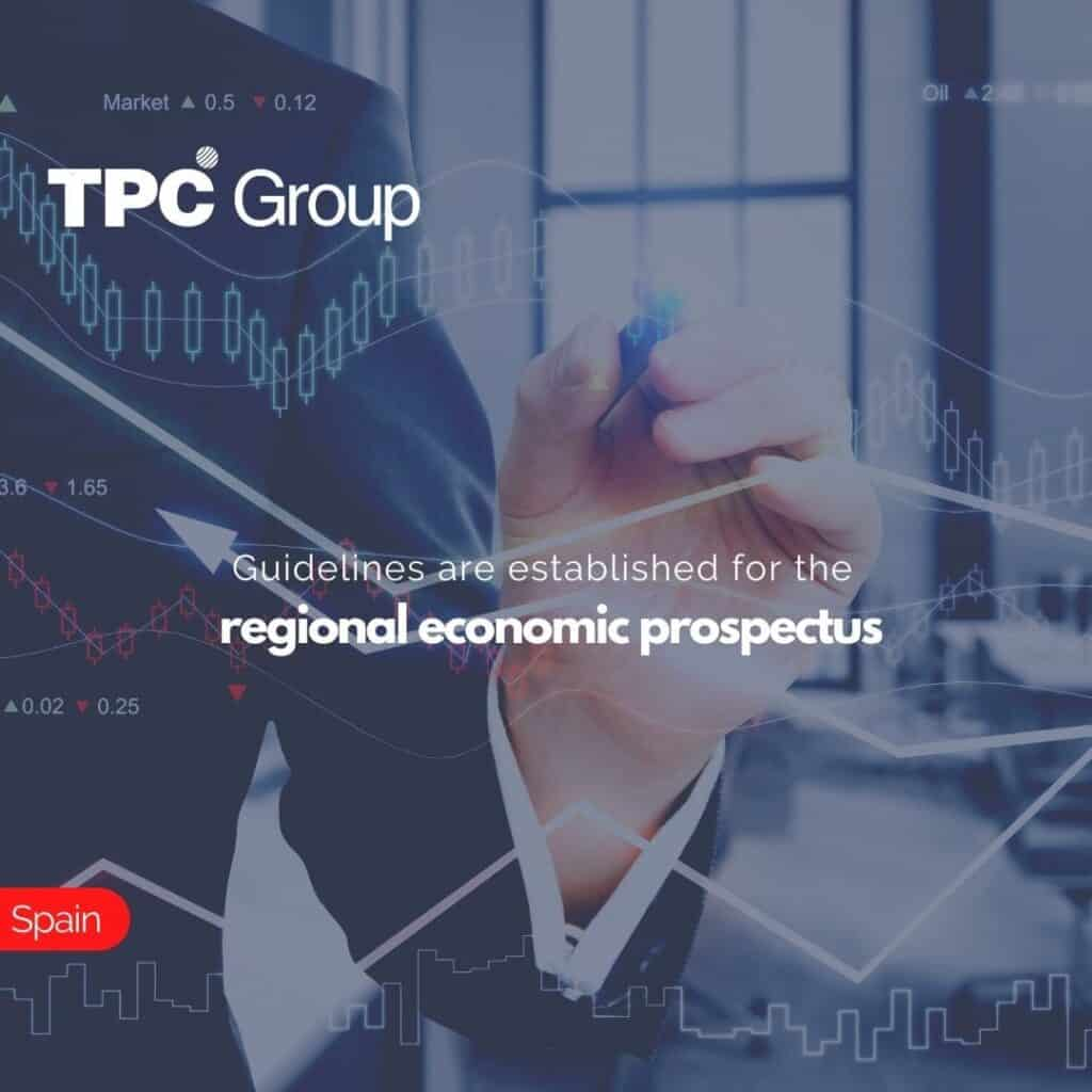 Guidelines are established for the regional economic prospectus