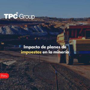 Impacto de planes de impuestos en la minería