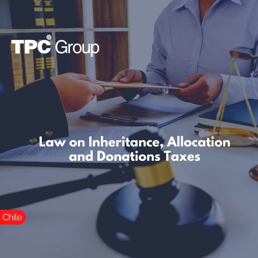 Law on Inheritance, Allocation and Donations Taxes