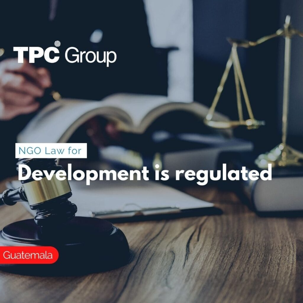 NGO Law for Development is regulated