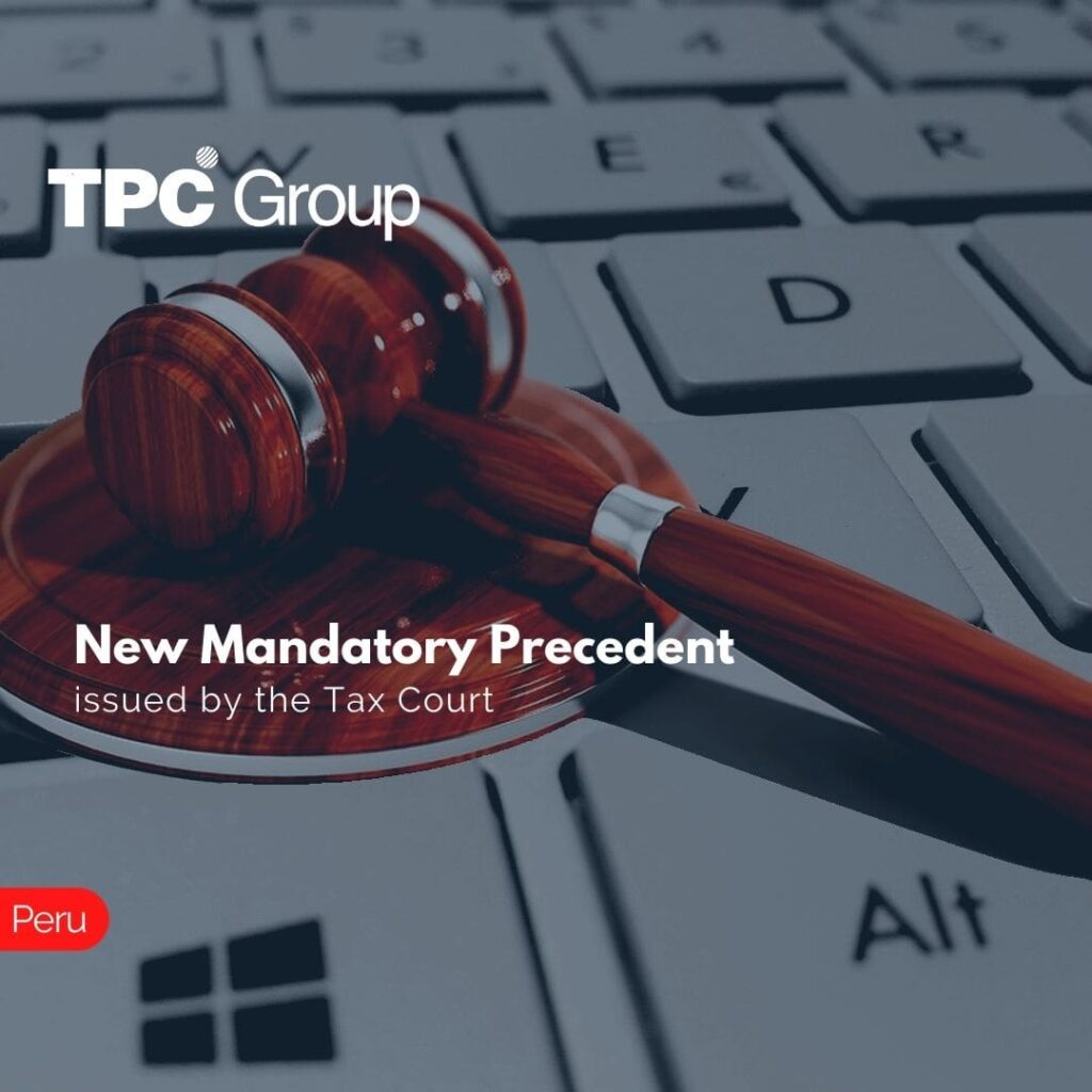 New Mandatory Precedent issued by the Tax Court