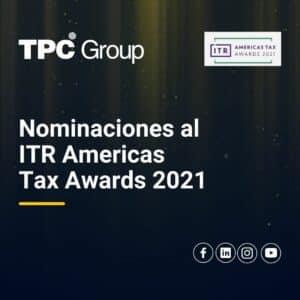 Premios ITR 2021 - TPC Group Nominados en 9 categorías
