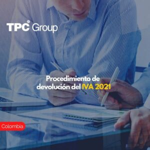 Procedimiento de devolución del IVA 2021