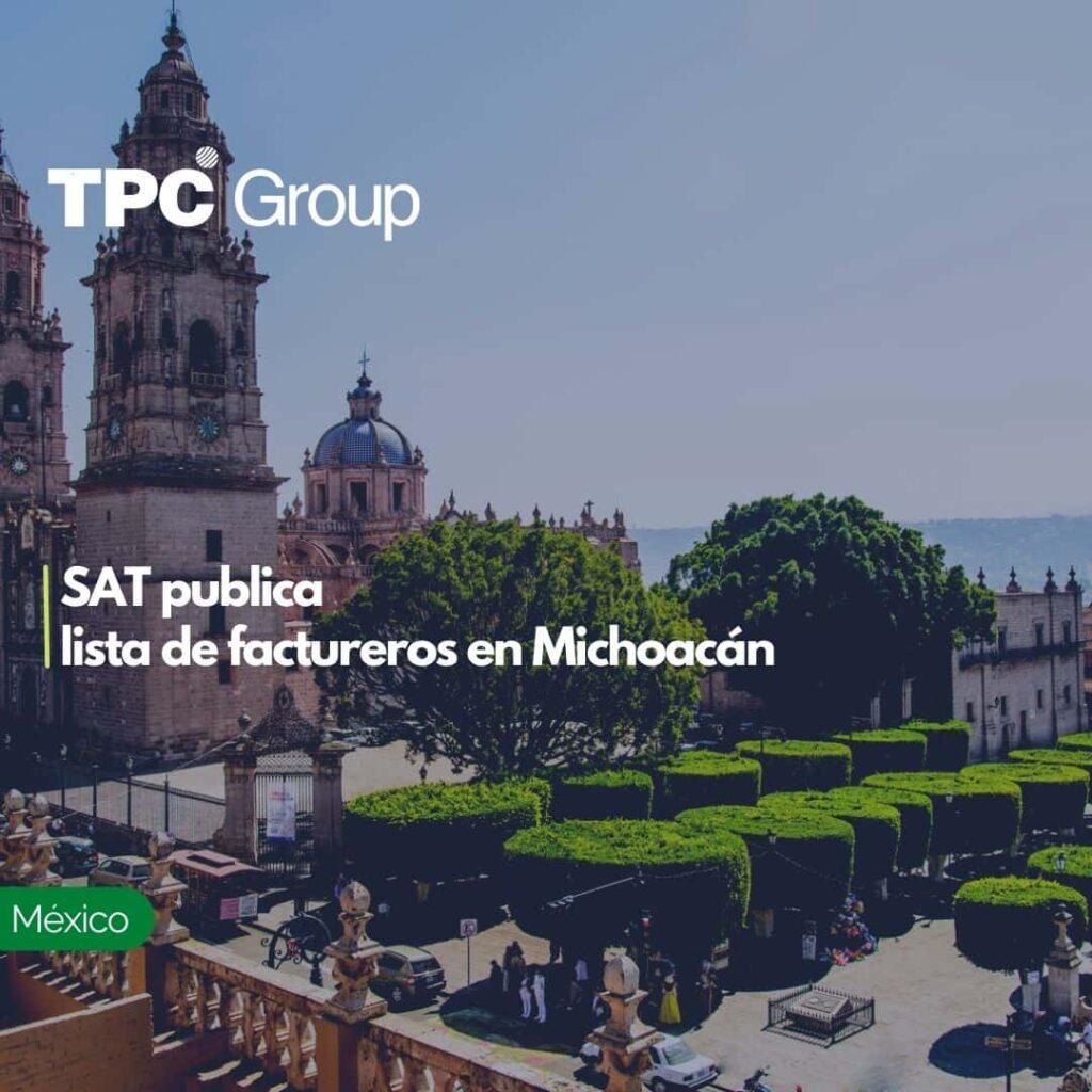 SAT publica lista de factureros en Michoacán