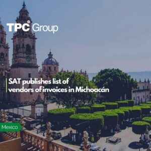 SAT publishes list of vendors of invoices in Michoacán