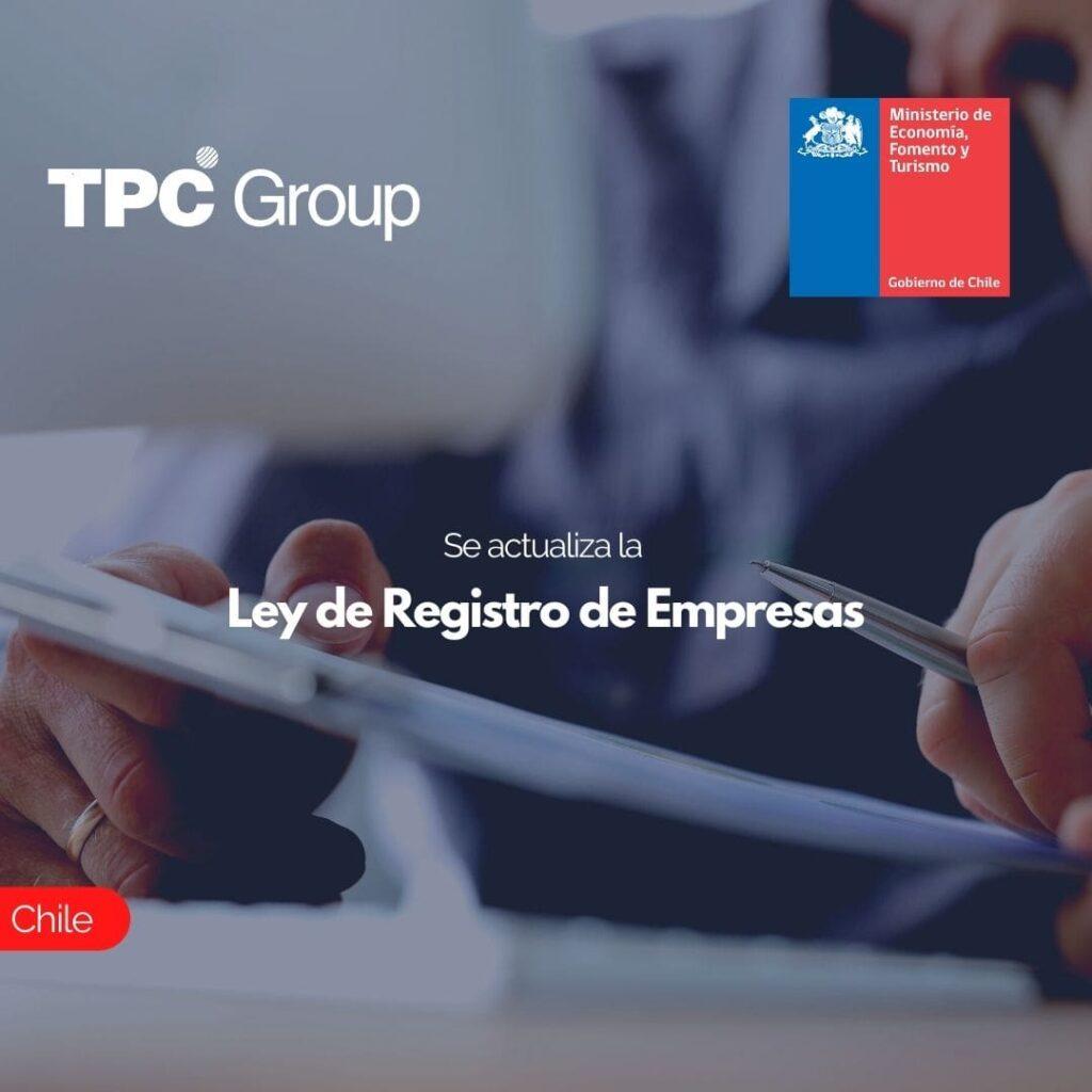 Se actualiza la Ley de Registro de Empresas
