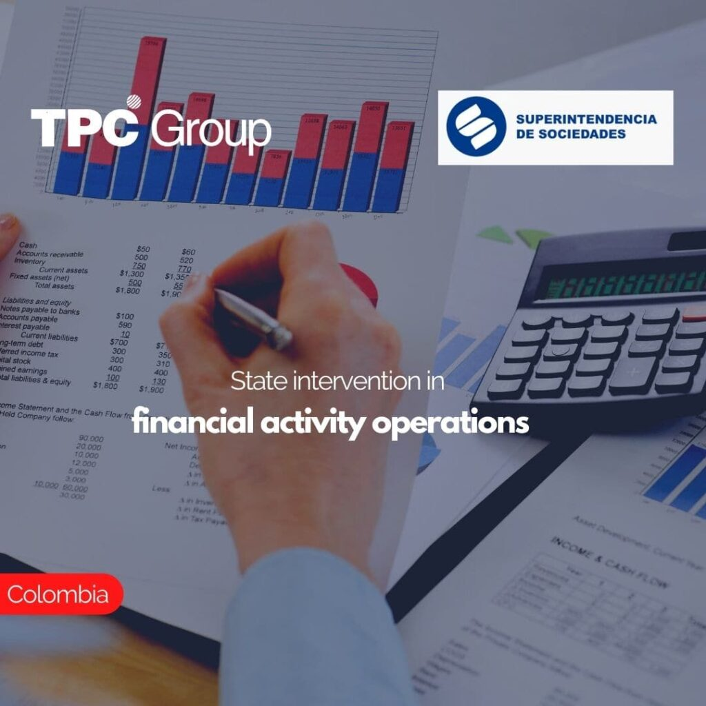 State intervention in financial activity operations