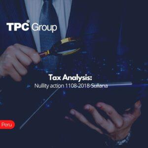 Tax Analysis Nullity action 1108-2018-Sullana