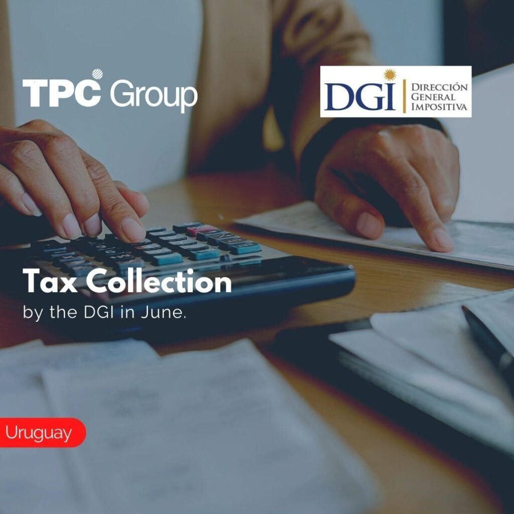 Tax Collection by the DGI in June