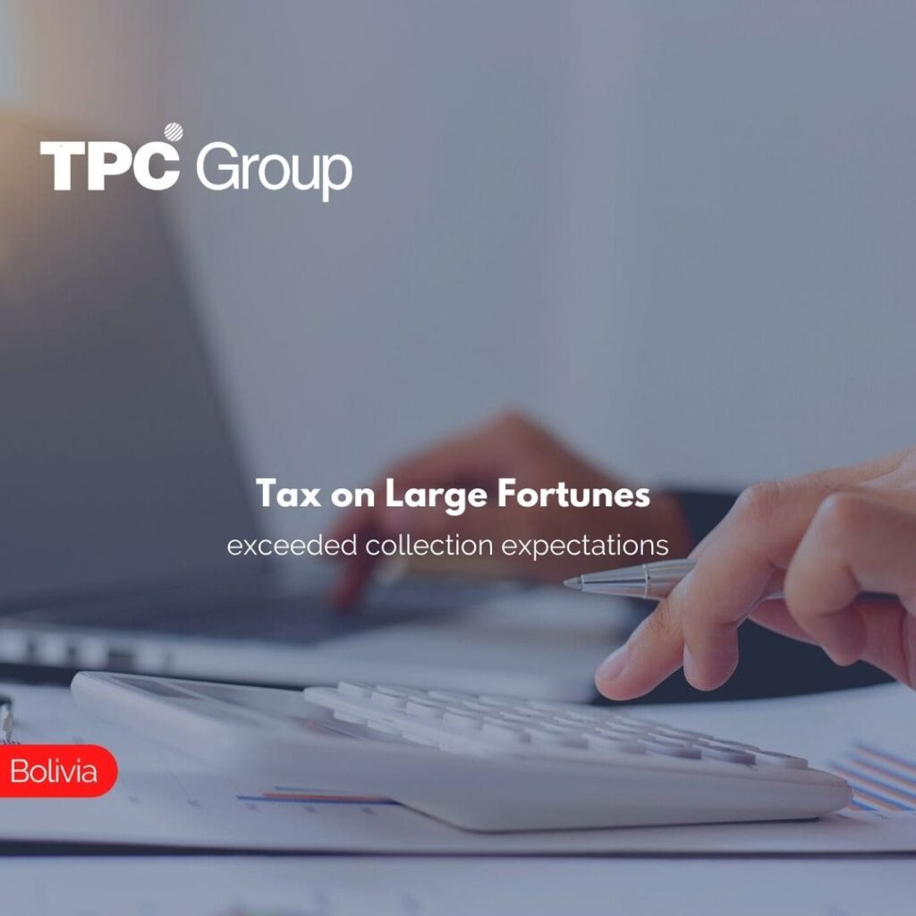 Tax on Large Fortunes exceeded collection expectations