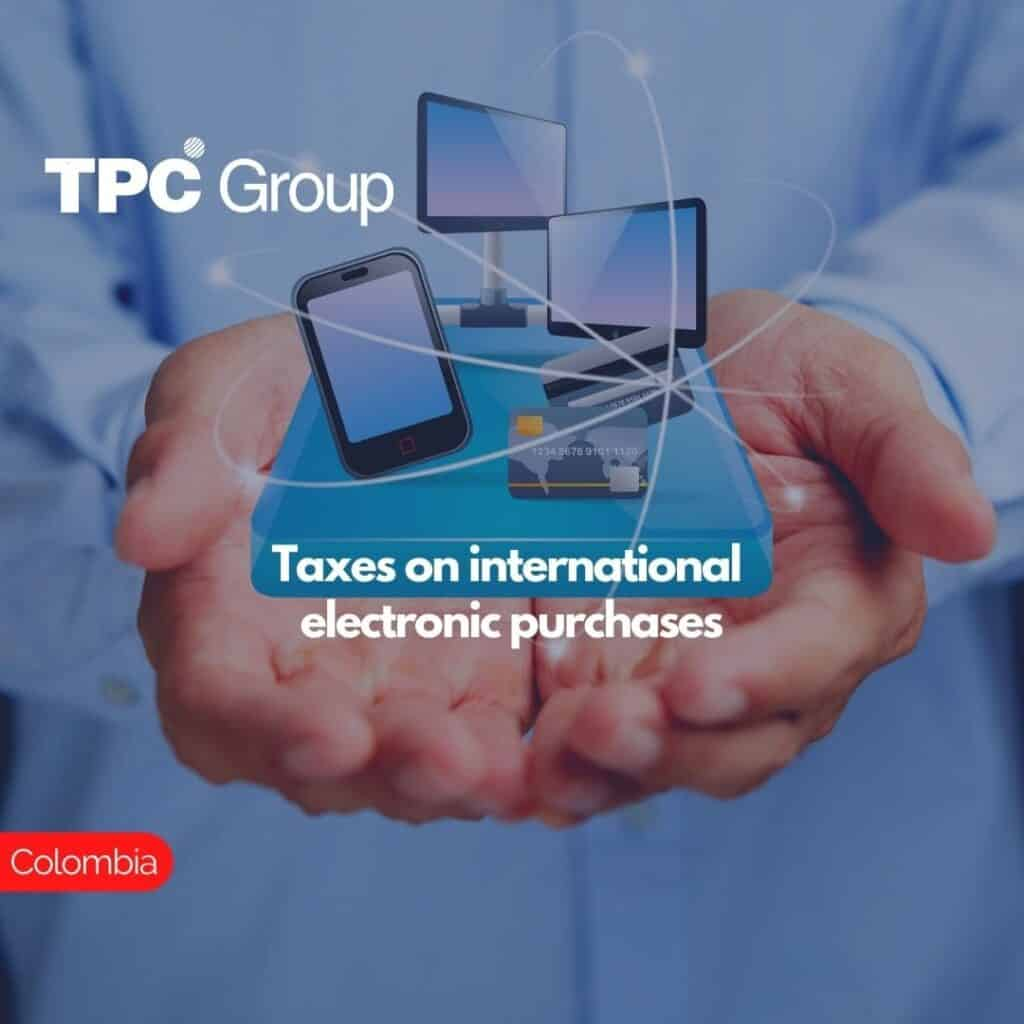 Taxes on international electronic purchases