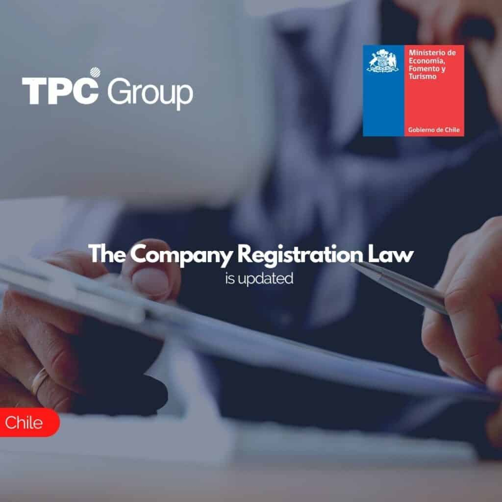 The Company Registration Law is updated