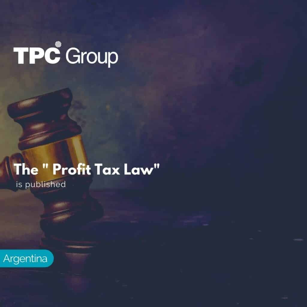 The Profit Tax Law is published