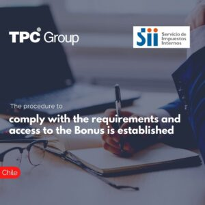 The procedure to comply with the requirements and access to the Bonus is established