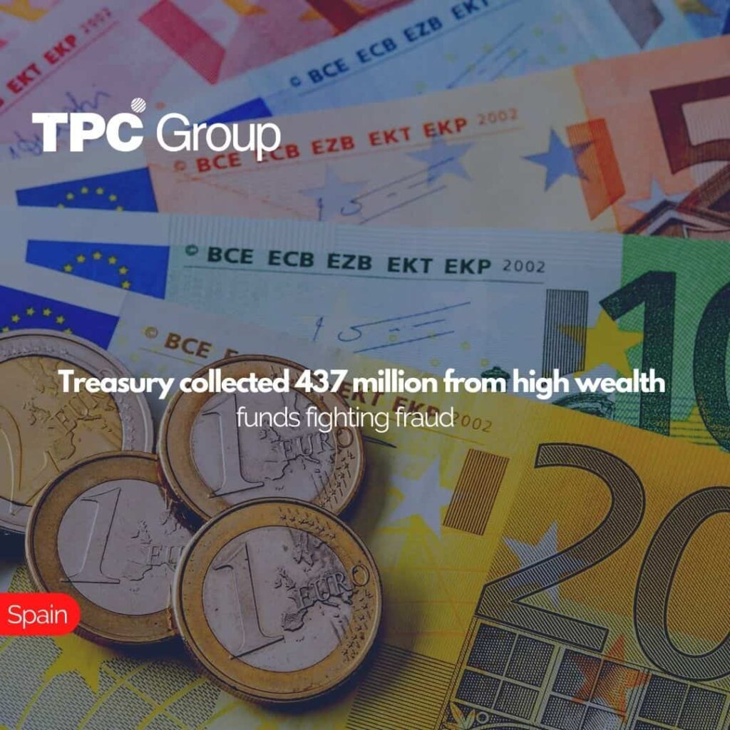 Treasury collected 437 million from high wealth funds fighting fraud