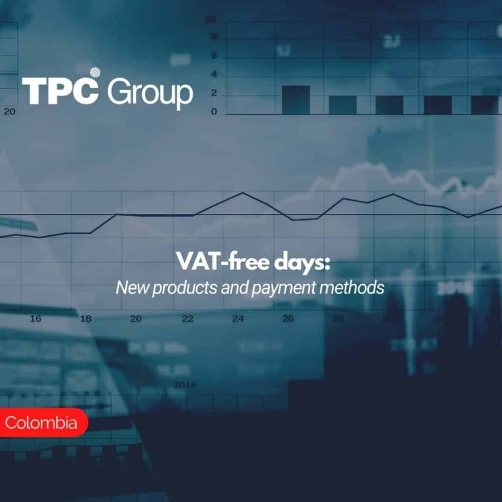VAT-free days New products and payment methods
