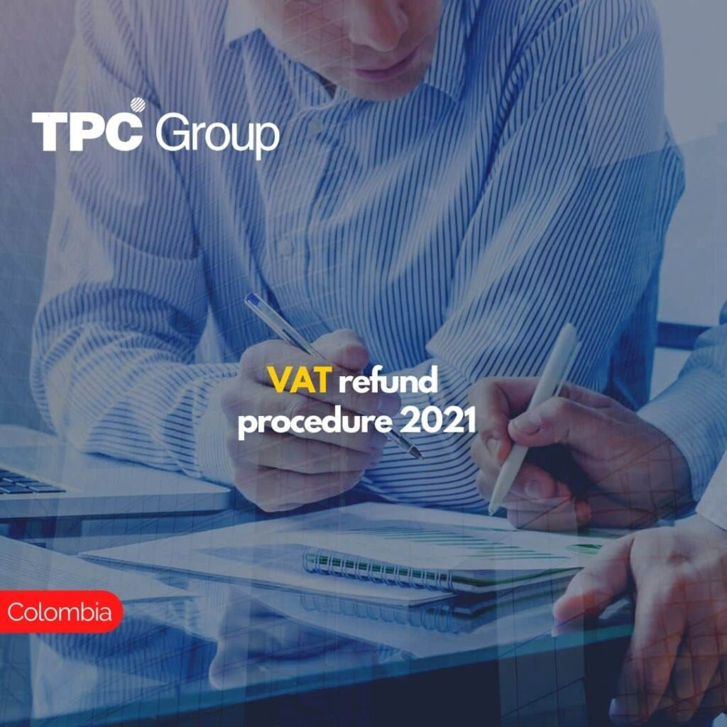 VAT refund procedure 2021